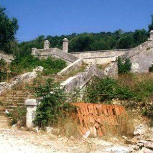 agii apostoloi cistern in gaios paxos island