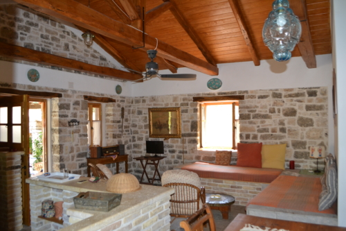 monolitharo traditional cottage accommodation in paxos greece sleeps 4