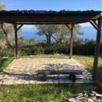pergola, sea view, Paxos island
